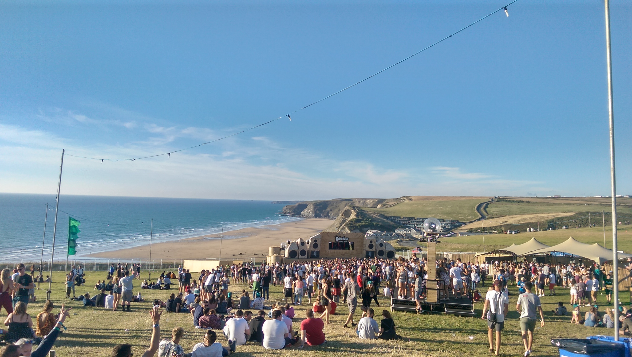 The Point Stage at Boardmasters
