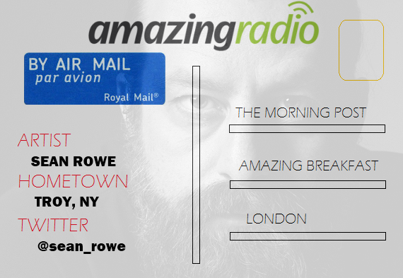 Sean Rowe Postcard