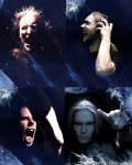 Cliché power metal band collage