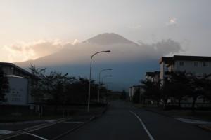 View of Mt. Fuji from Camp Fuji (Marines)