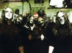 Slipknot, with the newer masks