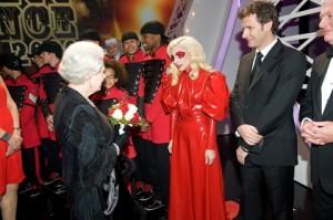 royal variety show england queen elizabeth lady gaga go fug yourself