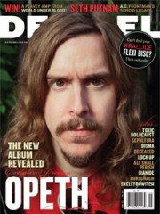 Opeth Decibel Magazine cover