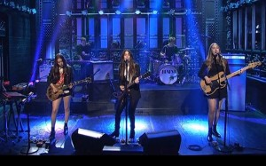 HAIM Saturday Night Live